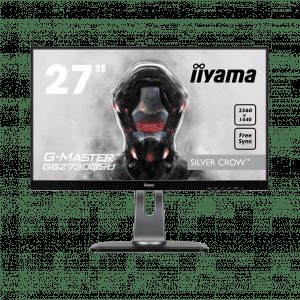 iiyama G-Master GB2730QSU-B1 Silver Crow Zwart