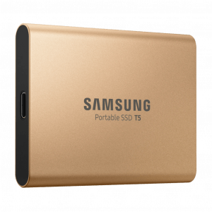 Samsung Portable SSD T5 1TB Goud