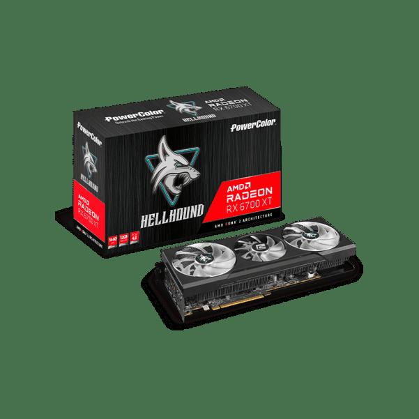 Powercolor Hellhound AMD Radeon RX 6700XT Afbeelding van een nieuw product