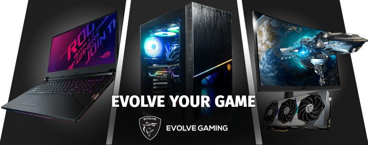 Evolve Gaming banner